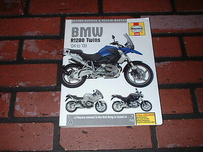 Haynes Manual For Bmw R1200 Twins. 2004 To 2009.