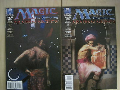 MAGIC the GATHERING, ARABIAN NIGHTS : COMPLETE 2 ISSUE SERIES. ALEX MALEEV. 1995