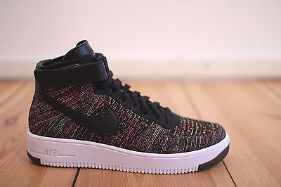 Nike Air Force 1 Ultra Flyknit Mid Herren Schwarz Hell