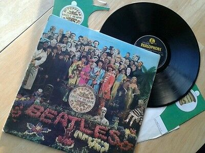THE BEATLES SGT PEPPERS LONELY HEARTS CLUB BAND  ORIGINAL vinyl Lp