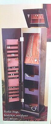 New Cedar Creek Kirkland's Jewelry Cabinet Armoire Rings, Necklaces, & Bracelets