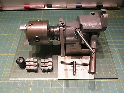 "Machinist Tools * 5C Collet Indexer & 4"" Self Centering Chuck 5C"