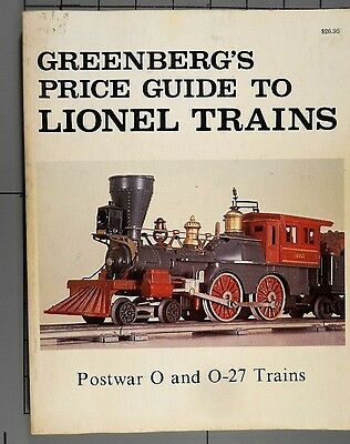 Greenberg's Price Guide to Lionel Trains Postwar O and O-27 Trains