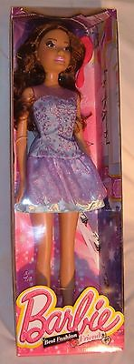 Large Barbie Hispanic Fashion Friend Doll With Clothes New In Box Fun For Girls