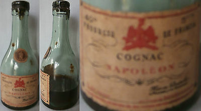 Old Cognac Napoleon Minibottle From France - 1