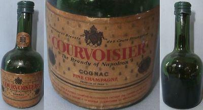 Old Cognac Courvoiseir Minibottle From France