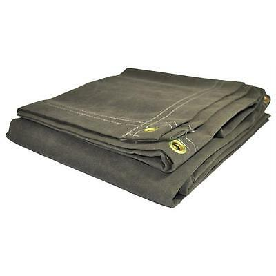 Foremost Dry Top Tarp Canvas 60810 Olive Canvas Tarp, 8 x 10 ft.