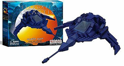Stargate SG-1 Best-Lock Wraith Dart Ship Construction Boxed Toy (FW-1009-S)