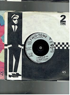 The Specials & Rico A Message To You Rudy/nite Club 45 1979 2 Tone