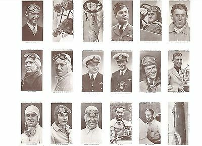 Kings of Speed - A complete set of 50 cards issued by Churchmans in 1939
