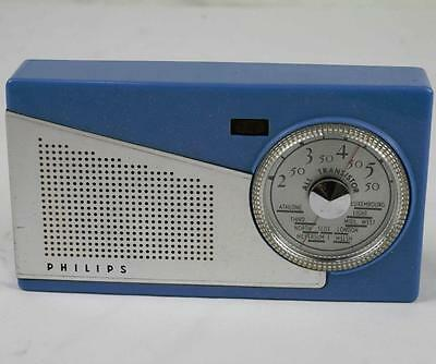 Vintage Philips 'Personic' Personal Transistor Radio L1G75T: Working