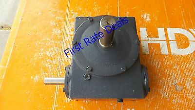 Hub City 0220-64607 WORM GEAR DRIVE Right Angle Speed Reducer 451 10/1 B 10:1