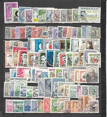 Uruguay 150+ Issues! Most Diff.,To 1960's, & OK! + Many With Flaws!#AK547X
