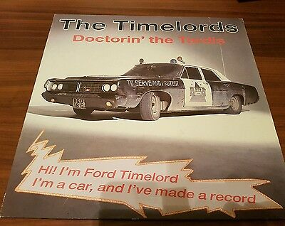 """The Timelords Doctorin the Tardis  KLF 12"""" record"""