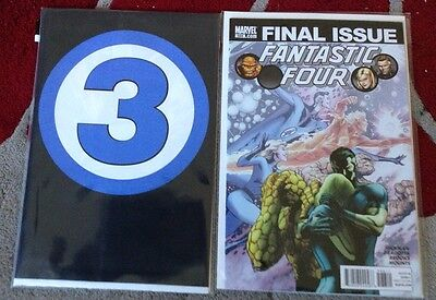 Fantastic Four 587-588 by Jonathan Hickman Final Issues Death Of Johnny Storm