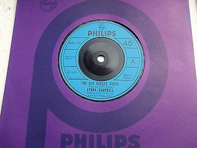 Ethna Campbell, The Old Rugged Cross / It Is No Secret. 1971 Philips Single
