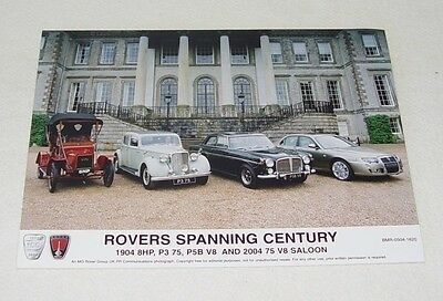 Rovers Spanning Century MG Rover Group 2004
