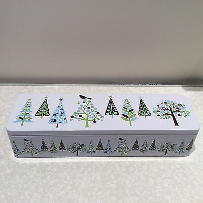 B.h.s. Vintage Christmas Biscuit Tin