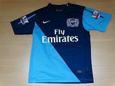ancien football maillot ARSENAL  foot 2011 2012 taille S ENZO  Gunners
