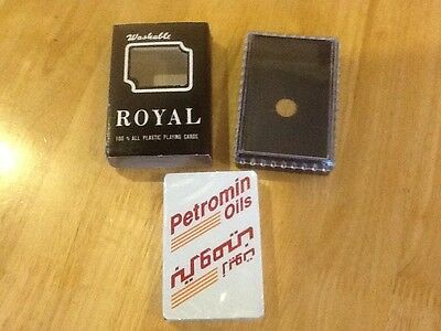 Playing Cards (NEW IN PLASTIC CASE ) Unopened