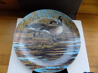 Mib 'wings Upon The Wind' Series Plate 2 Of 6 'courtship' By Donald Pentz 1986