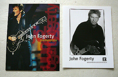 John Fogerty 1998 Cd Press Kit With Publicity Photo