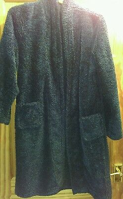Boys Blue dressing gown age 12