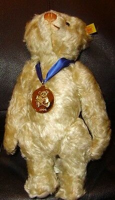 """Steiff limited 2004 edition Bear No. 661365 12"""" Danbury Mint with certificate"""