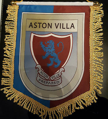 aston villa 14x12in colour pennant