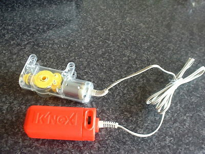 Knex Genuine Forward And Reverse  Electric Motor And Cable