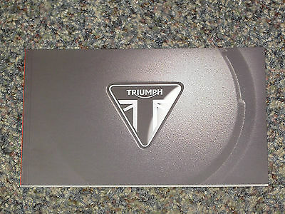 2015 Triumph Motorcycles Brochure Catalog Mint! 88 Pages All Models