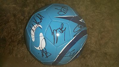 Superb Preston North End Football Signed By 28