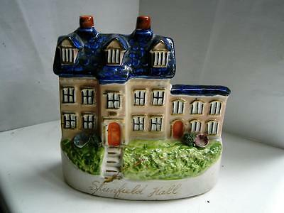 Staffordshire pottery figure Stanfield hall notorious Victorian murders C1900s