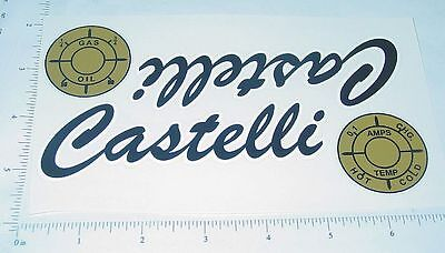 Castelli Pedal Tractor Replacement Sticker Set   CA-001