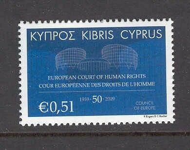 Cyprus 2009 European Court of Human Rights MNH