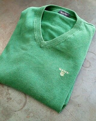 Pull Gant taille L Vert coton