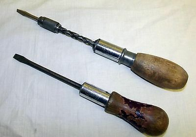 Two Vintage Stanley Yankee Screwdrivers 10A And 133H – Gwo
