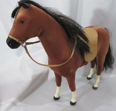 American Girl Doll Felicitys Horse Chustnut Brown Large Saddle Bridle Retired