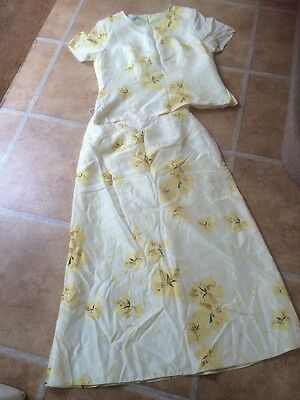 Silk Jacques Skirt and Top 14