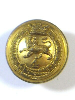 4th (Kings Own) Foot original Victorian Officers Medium Button.