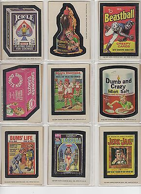 1975 Topps Wacky Packages 13th Series 13 Complete Set 30/30 NM-