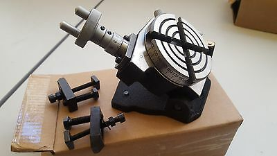 """3"""" Tilting Rotary Table With Clamps  (TSK-3"""")"""