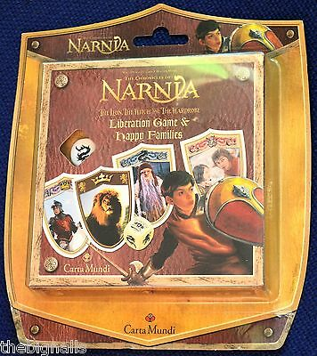 Narnia, The Lion, The Witch and The Wardrobe Card Games New Sealed