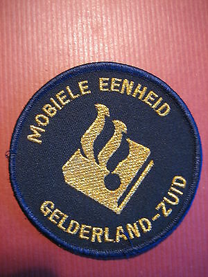 Police Patch: Holland Netherlands Politie - Special Riot Unit (Obsolete)
