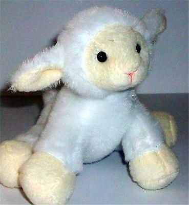 """Lamb 5"""" Soft and Cuddly Plush Toy Press for Authentic Sound Sheep"""