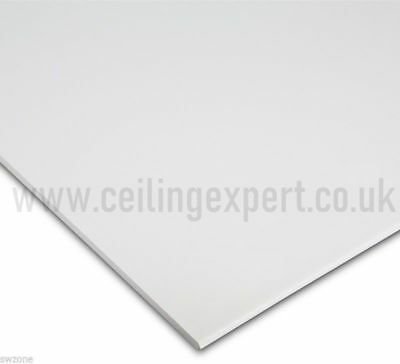 Suspended Vinyl Ceiling Tiles Lamination Panel Board Easy Clean Wipe Able Satin
