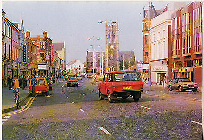 MARKET STREET PORTADOWN Co. ARMAGH 1980s POSTCARD PUBLISHED BY BERIC TEMPEST