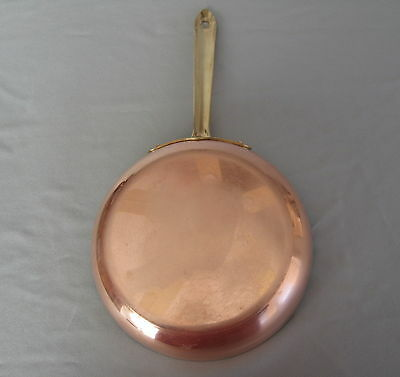 Vintage Copper Skillet Tin Lined - B & M Duoro Portugal