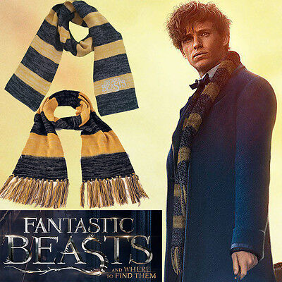 Fantastic Beasts and Where to Find Them Cosplay Costume Harry Potter Scarf Wrap