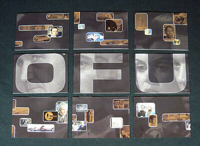 2003 Cards Inc UFO Limited Edition Puzzle Preview Set (9) Gerry Anderson